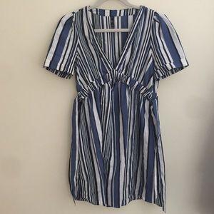NWOT Striped Zara Dress